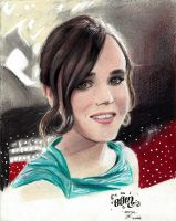 + Ellen Page + by Sevenlole