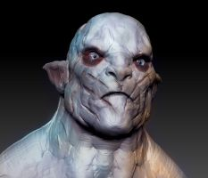 azog the defiler speedsculpt by Draconius666