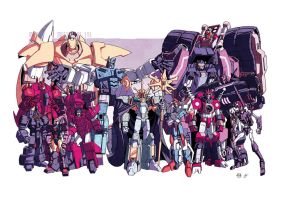 MTMTE meet the bad guys by dcjosh