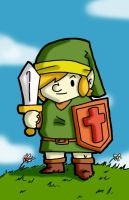 Old School Link by watthaduece