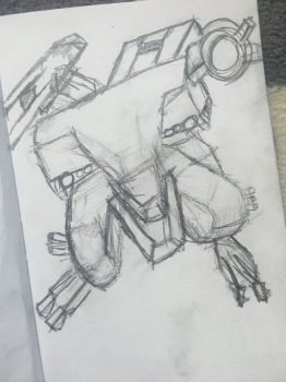 Metal gear (unfinished?) by ZoodleMyNoodle