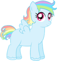 White Whirl by LudiculousPegasus