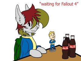 Waiting for Fallout 4 by infernal69