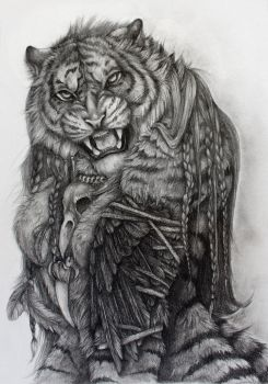 Shaman Tigress by SteelC
