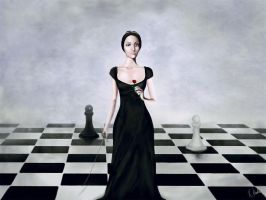 The Black Queen by RuslanKadiev