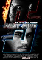 Fast Five Fast Furious5 Poster by Alecx8