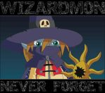Wizardmon. Never Forget by HeyLookASign