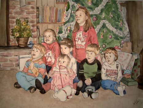 Christmas Cousins by herbalcell