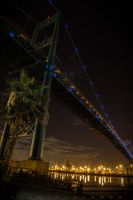 Vincent Thomas Bridge by AldrichAlonzo