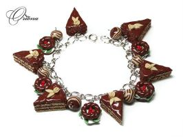 Chocolate by OrionaJewelry