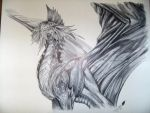 Silver Dragon by Zanafia