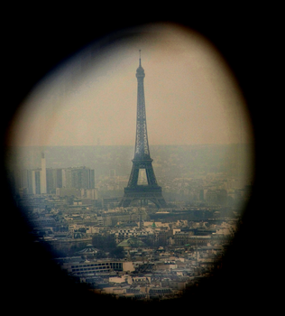 The Eiffel Tower by Lovely11812