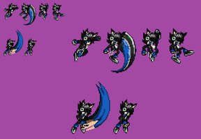 Francis New Attacks Sprites by NSMBXomega