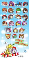 REAL Smashing X-Mas:: by vaporotem