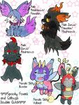 Skitty/Illumise Left!  Double Clutch by chibimaker
