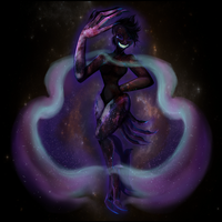 Galaxy Monster by drawitout