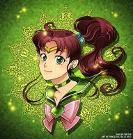 Sailor Jupiter Speed Paint by Ernz1318