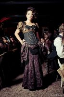 Fashion Show steampunk by myoppa-creation