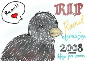 R.I.P Raoul: A Quail of Love by Jounin-SZ