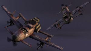 Enemy Fighter 2 - Icarus by musegames