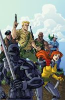 GIJoe colors by natelovett