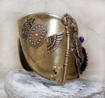 Steampunk Watch - Egyptian 2 by Aranwen