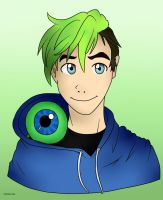 JackSepticEye (Youtube) by AmazingKim-Chan