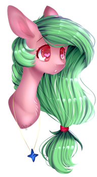R.:-Nature heart's headshot- by Clefficia