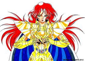 CABALLERO DORADO MICHAELA DE VIRGO (MARKER-COLOR) by MUERTITO69