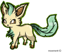 :.Leafeon.: by movementt