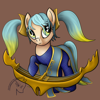 Sona My Little Pony by sterlingsilver