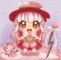 [CLOSED] Sakura Mage Adoptable by Sarilain