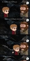 HOBBIT: A Wild Bombur Has A Beard by Kumama