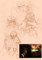 sketches for warzone by davidbrown