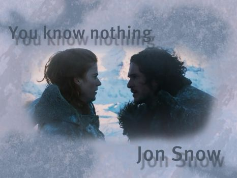 Jon and Ygritte by Copper-Moon