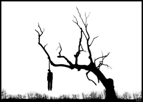I was hanging from a tree... by Jects