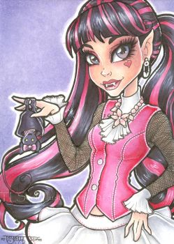 Monster High Draculaura by TLSeely