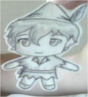 Chibi Peter Pan x3 by Foreveryoung8