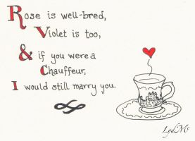 Nerdy Valentines Day Cards: Downton Abbey! by LydMc