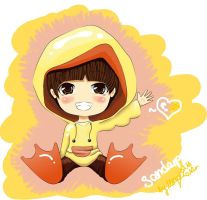 Sandeul the duckling by ShieraSS
