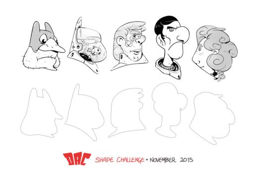 DAC Shape Challenge - November 2015 by StMan
