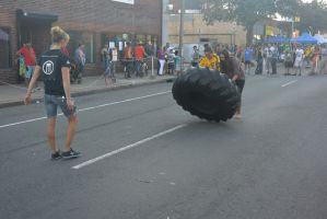 2014 Fluff Fest, Tire Rolling 8 by Miss-Tbones