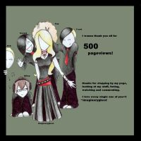 500 pageviews by imaginaryghost