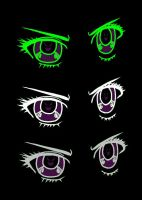 Anime Eyes For VF Contest by JunieNicole