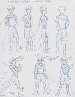 Veltin  - Character Model sheet Part 2 by Yukiko-chan