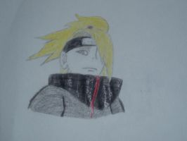 Deidara of Akatsuki by Kiranaomipartners