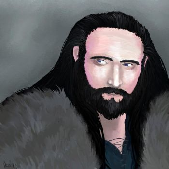 Thorin Oakenshield by Shukria