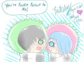 ur fuckin perfect 2 me colored by misa66