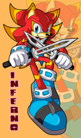 Inferno the Hedgehog .:Trade:. by Pendulonium