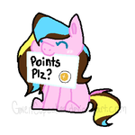 Points ples :COMMISSION 2/2: by GwenCupcakes